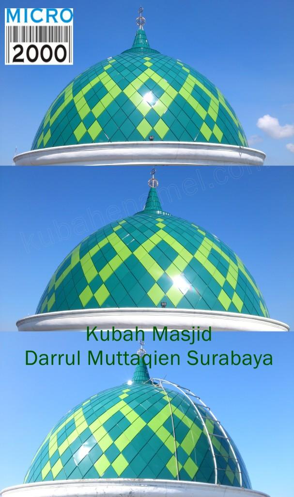 kubah masjid darrul muttaqien