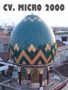 """Kubah Masjid """"Rangkah"""" Surabaya"""