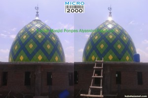 Kubah masjid pasuruan