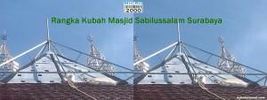 Kubah Masjid Sabilussalam Surabaya