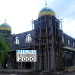 """Kubah Masjid """"Baiturrochim"""" Gresik"""