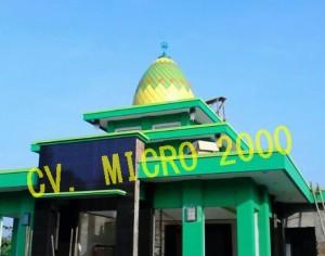 "Kubah Masjid ""Pemalang"" Jawa Tengah"