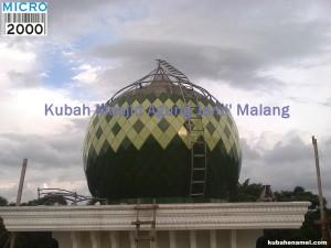 Kubah Masjid Agung Jami' Malang
