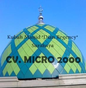 "Kubah Masjid ""Dian Regency"" Surabaya"