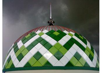 penangkal petir masjid
